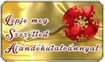Karácsonyi AJÁNDÉK UTALVÁNY